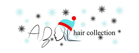 azul hair collection Xmas logo