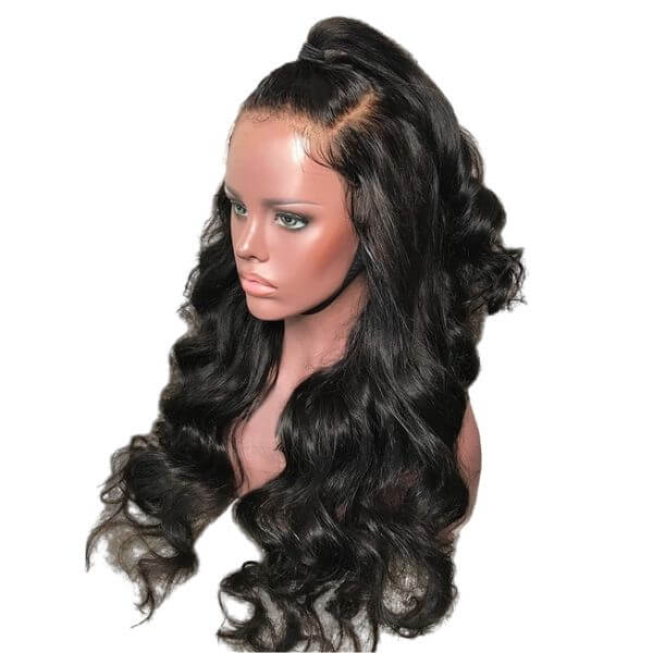 Brazilian Flawless Invisible Knot Lace Wig - Wavy - Lace Front   150% Density