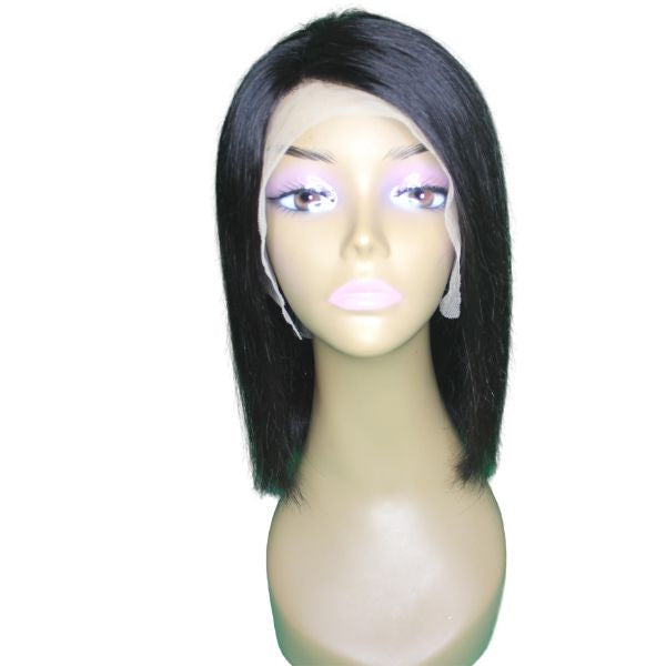 Brazilian Hair - Lace Front Wig - Bob Cut - Straight Style
