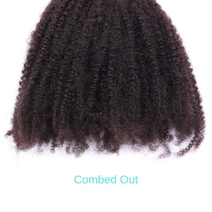 Brazilian Clip in - Afro kinky - azulhaircollection Azul Hair Collection