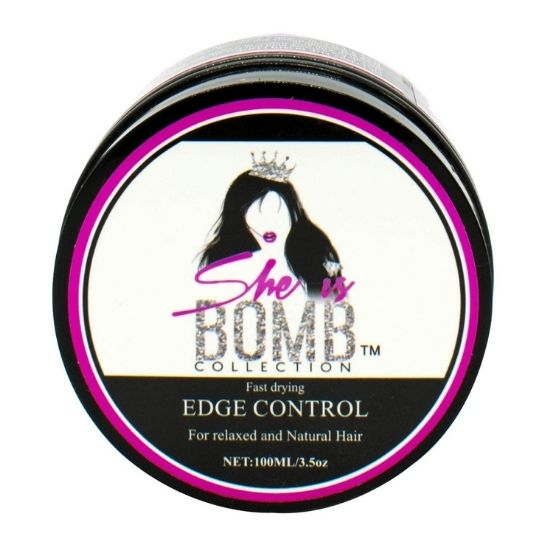 She Is Bomb Collection - Quick Drying - Strong Hold - Edge Control Gel