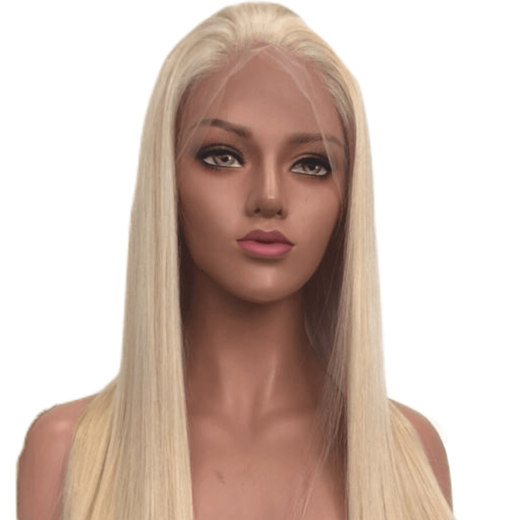 azul hair collection full color blonde full lace wig straight transparent lace