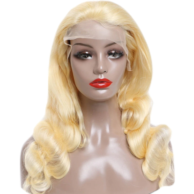 Brazilian Lace Front Wig - Full Color Blonde - azulhaircollection Azul Hair Collection