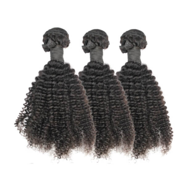 Brazilian Hair Bundle Set  - Kinky Curly Style