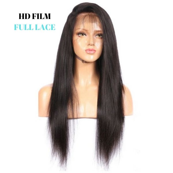 Brazilian HD Film  Full Lace Wig - Straight by azul hair collection