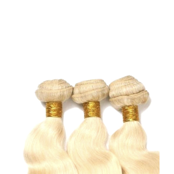 Brazilian Bundle Set - Full Color Blonde - Wavy Style