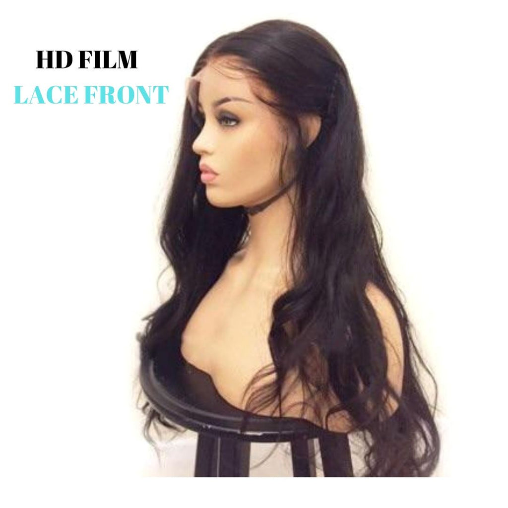 Brazilian HD Film Lace Wig - Loose Wave - Lace Front   150% Density