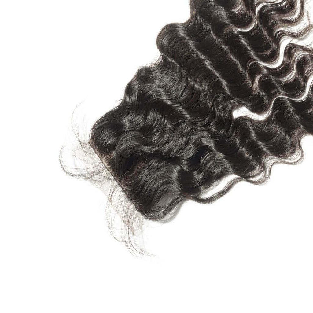 Brazilian Hair Lace Closure - Exotic Wave Style