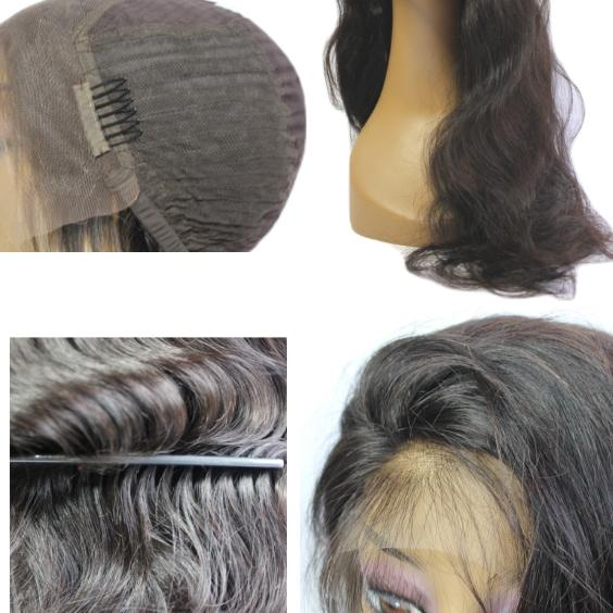 Brazilian Hair Lace Front Wig - Loose Wave Style