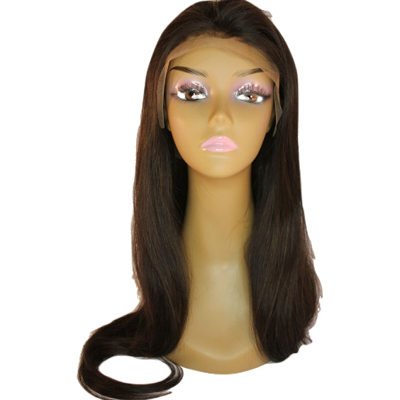 Brazilian Hair Lace Front Wig - Straight Style