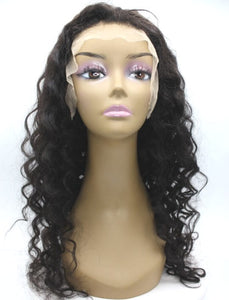 Brazilian Hair - Swiss Transparent Full Lace Wig - Exotic Wave Style