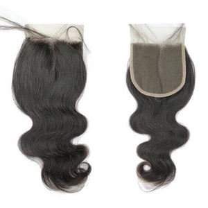 Brazilian Hair Lace Closure - Wavy Style - azulhaircollection Azul Hair Collection
