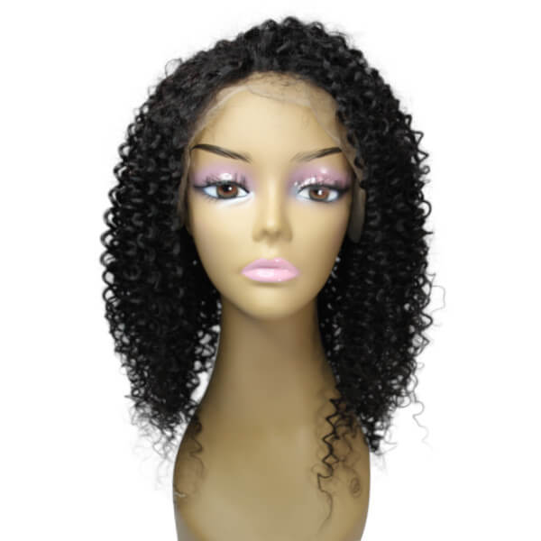 Brazilian Hair Full Lace Wig - Kinky Curly Style