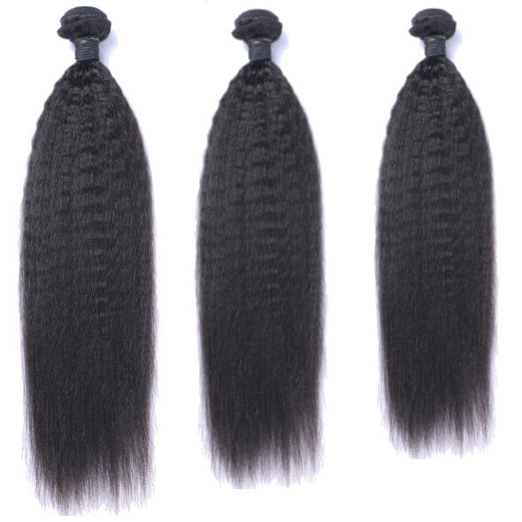best brazilian kinky straight hair extensions