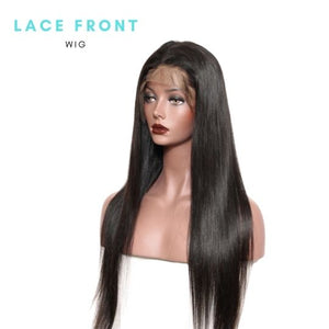 Brazilian Hair - Swiss Brown Lace Front Wig - Straight Style   150% and 180%  Density by azul hair collection