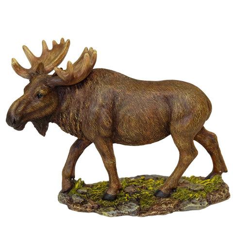 Wild Moose Figurine/Sculpture- Table Stand