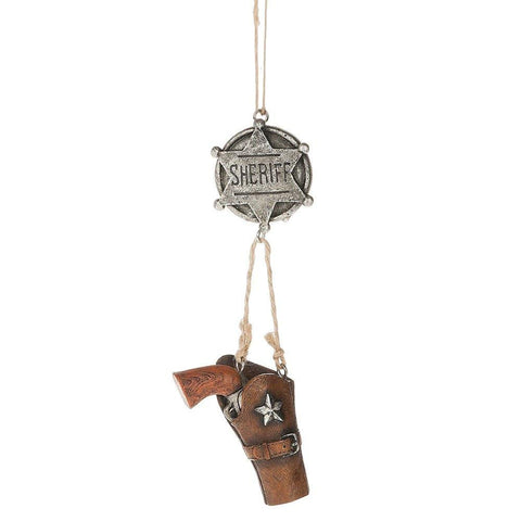 Sheriff Gun and Holster Ornament
