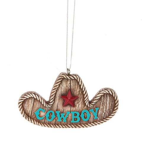 """Cowboy"" Hat Ornament"