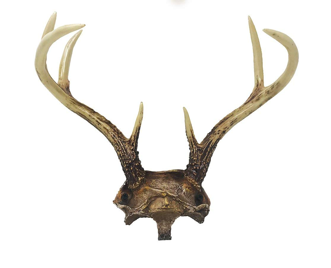 "Beautiful Rustic Faux Antler Wall Decor - 14"" x 6.6"" x 12.75"" - Wall Hanging"