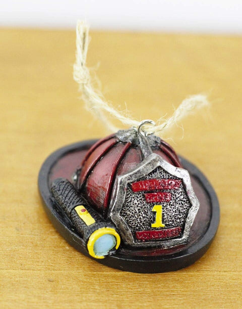 Fireman Hat Ornament