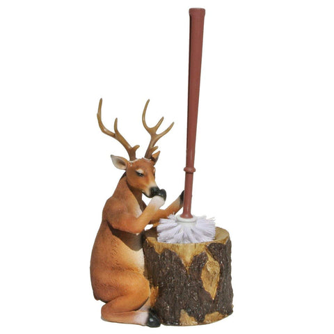 Deer Toilet Brush Holder