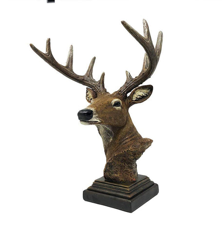 Beautiful Deer Bust - Polyresin