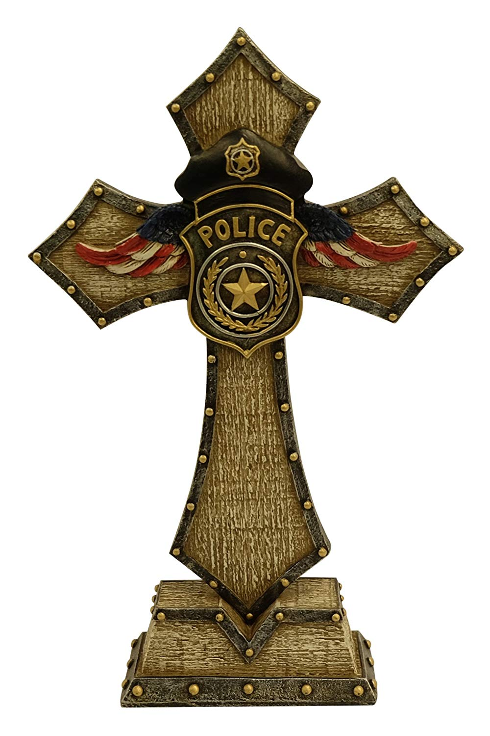 Police - Law Enforcement Standing Cross