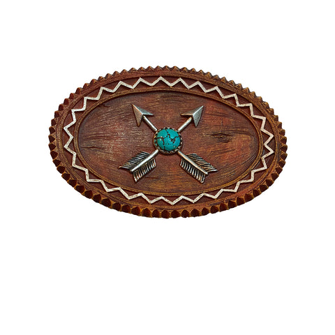 Crossed Arrows Soap Dish - Coin/Change Dish - Jewelry Dish - Bathroom Accessory