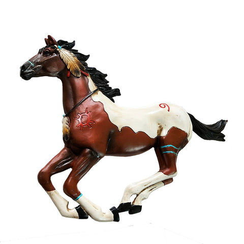 Indian Running Pinto Horse - Wall Hanging