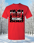 Nebraska Football Big Red Rising T-Shirt