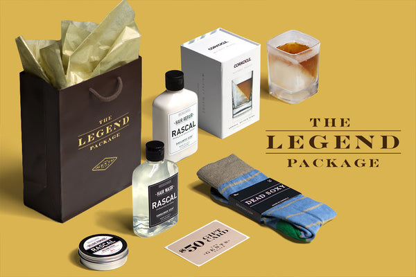 "Father's Day ""The Legend"" Package Exclusively at The Gents Place (Frisco, Preston Hollow, Southlake, Leawood)"