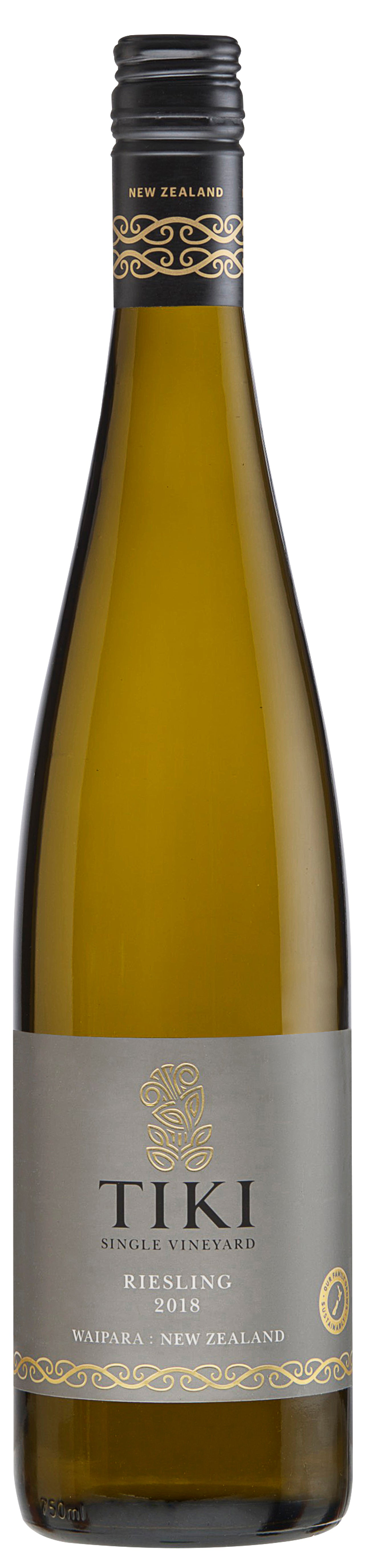 Tiki Single Vineyard Waipara Riesling 2018 - $25 a bottle - $150 for a 6 pack