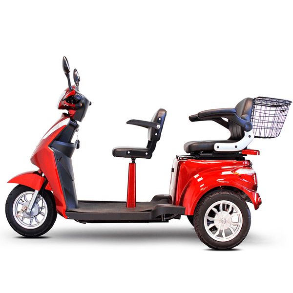 EW-66 Two Passenger Recreational Scooter - EWheels Mobility Jungle