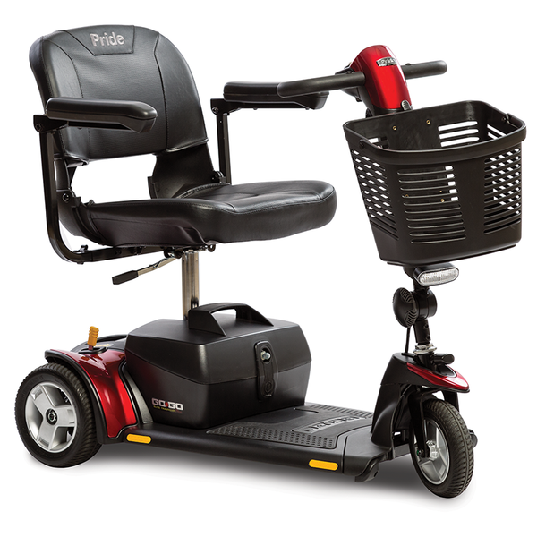 Go-Go Elite Traveller Plus 3-Wheel Scooter Mobility Jungle