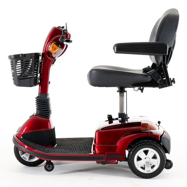 Pride Maxima 3-Wheel Scooter with Power Seat Mobility Jungle