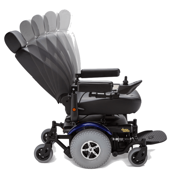 Vision Super Heavy Duty Power Chair - Merits Health Mobility Jungle
