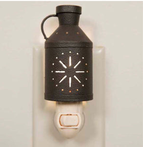 Milk jug night light