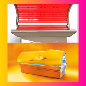 Red light therapy PLUS Tanning memberships