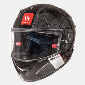 Casco MT HELMETS KRE GLOSS SNAKE CARBON