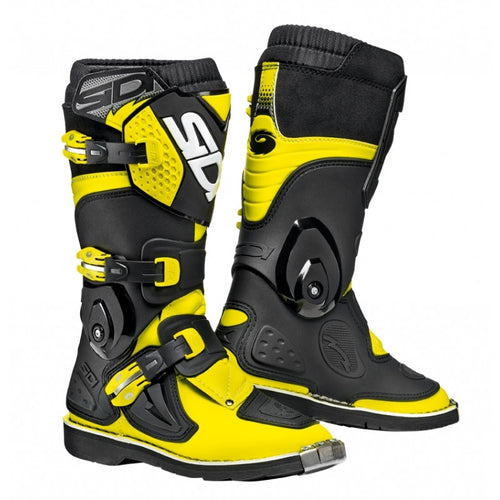BOTAS SIDI FLAME AMARILLO/NEGRO  (JUNIOR)