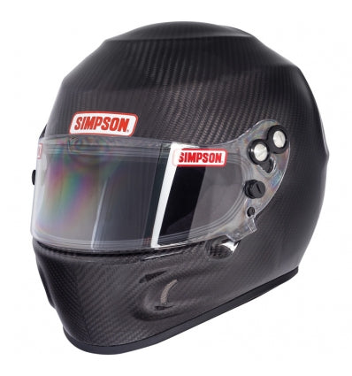 Casco Simpson Carbon Devil Ray Auto FIA