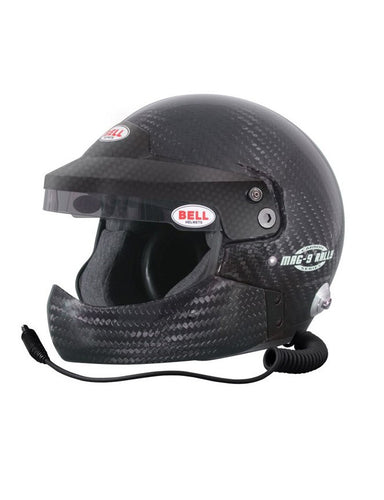 Casco Bell Mag-9 Rally Carbon, Auto FIA.