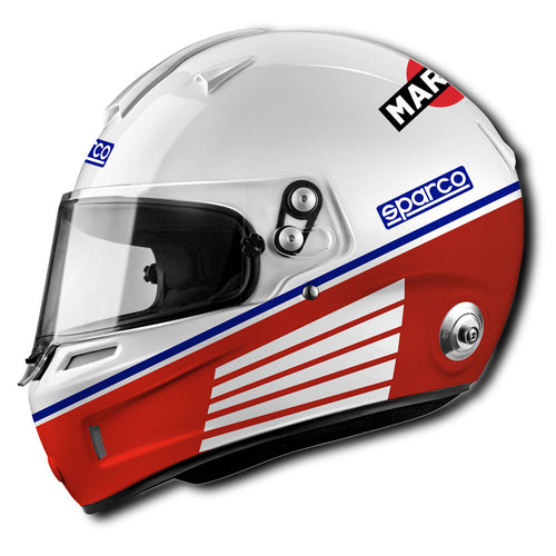 Casco Sparco AIR PRO RF-5W Martini Racing Heritage FIA 2015