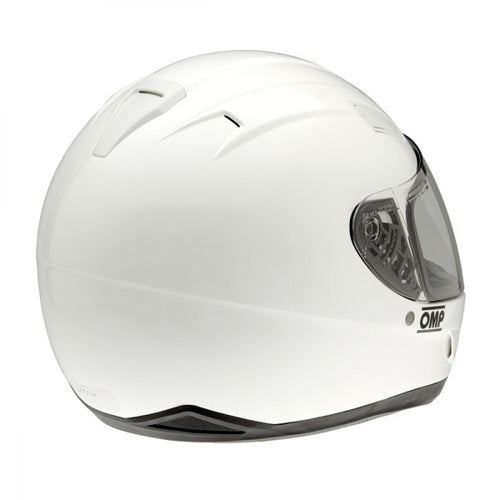 Casco OMP Karting Circuit ECE 22.05 integral - Blanco