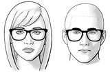 face shape oval EMPAWEE Computer Glasses