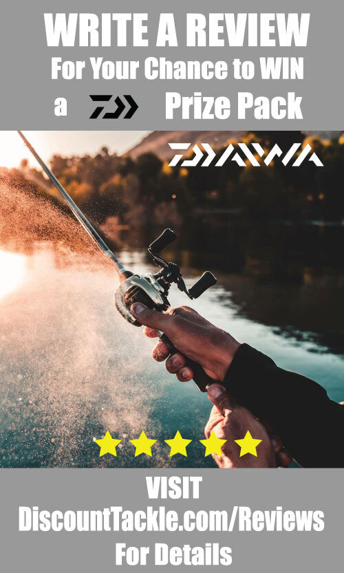 Discount Tackle Product Review Giveaway