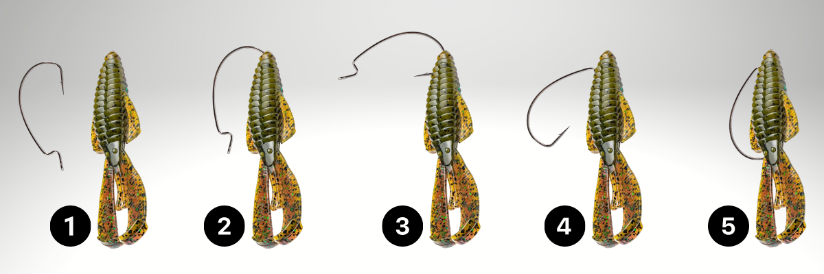 How to rig the Texas rig