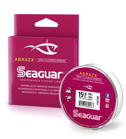 Seaguar AbrazX Fluorocarbon Fishing Line 200 Yards