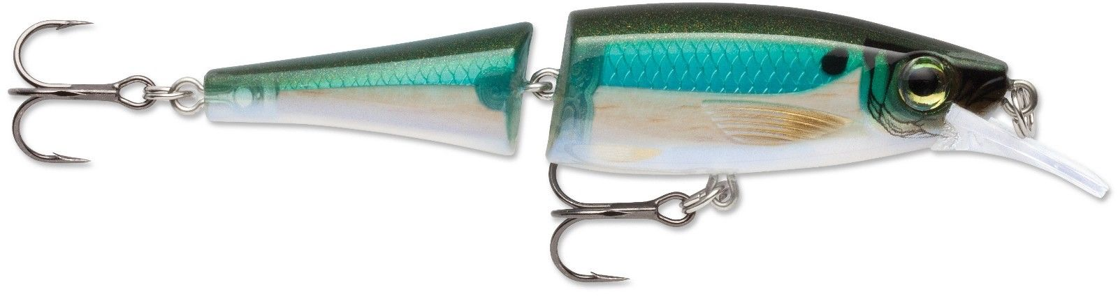 Rapala Balsa Xtreme BX Jointed Minnow 09 Medium Diving Jerkbait Blue Back Herring