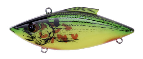 Bill Lewis Rat-L-Trap Bleeding Shad Series Lipless Crankbait Bleeding Chartreuse